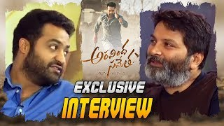 Jr NTR and Trivikram Exclusive Interview About Aravinda Sametha Movie | Aravinda Sametha Latest News