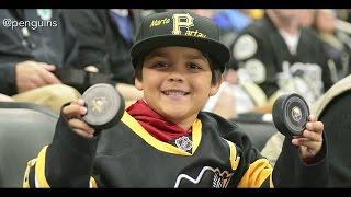 Little Penguins Fan Rewarded After Adult Steals Puck