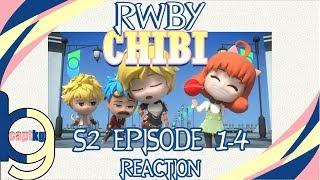 RWBY Chibi S2 Episode 1-4 - Reaction w Jordie