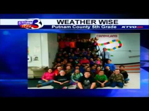 GMH--Putnam County Elementary School Weather Talk Photo  1/14/16
