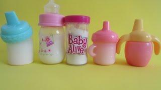 Como fazer LEITE EM PÓ para Baby Alive e outras bonecas. Novelinha da Baby Alive