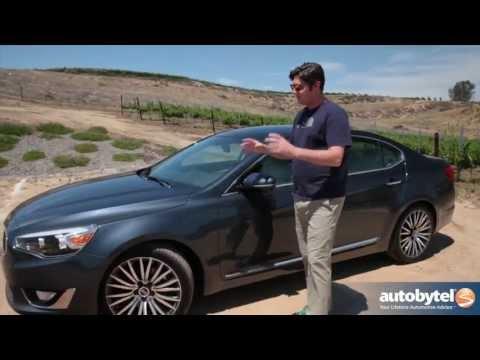 2014 Kia Cadenza Test Drive & Full-Size Sedan Video Review