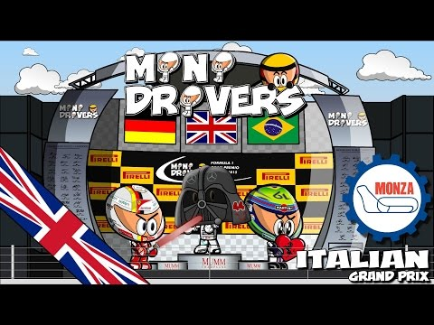 [ENGLISH] MiniDrivers - Chapter 7x12 - 2015 Italian Grand Prix