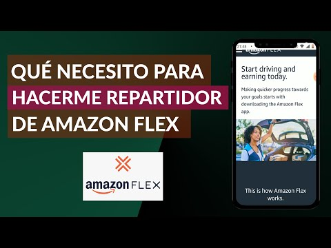 ¿Qué Necesito para Hacerme Repartidor o Conductor en Amazon Flex? - Empleo en Amazon Flex