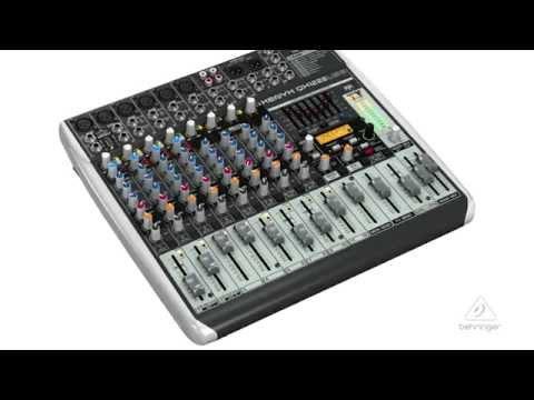XENYX QX1222USB Portable Mixer & USB Audio Interface