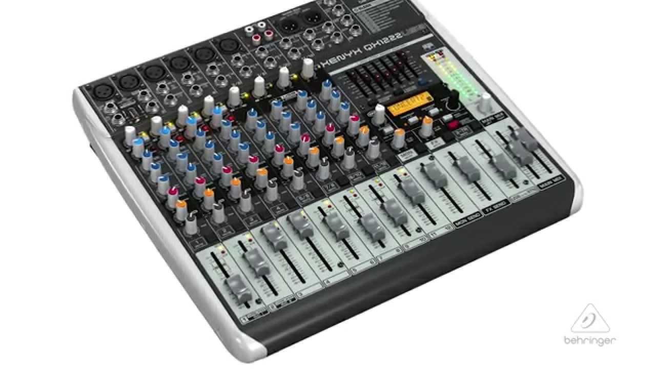 Poddi Personal Audio Interface : Xenyx qx usb portable mixer audio interface youtube