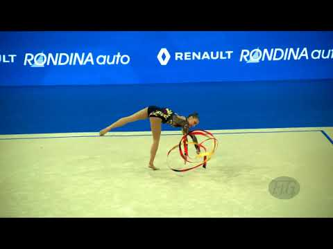 FILIORIANU Ana Luiza (ROU) - 2017 Rhythmic Worlds, Pesaro (ITA) - Qualifications Ribbon