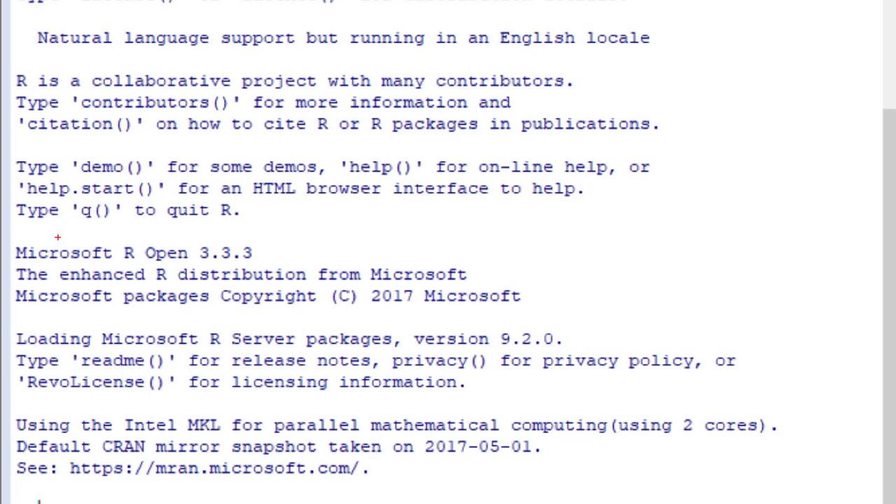 Verificar que R Services está instalado en SQL Server