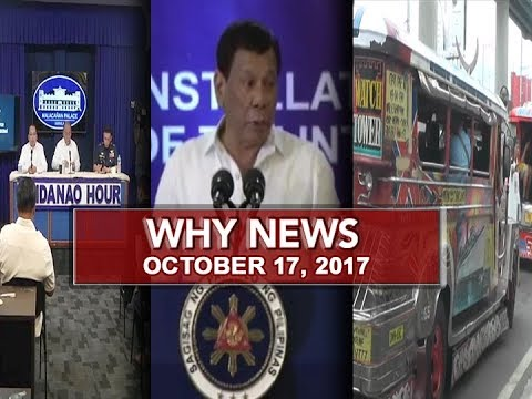 UNTV: Why News (October 17, 2017)