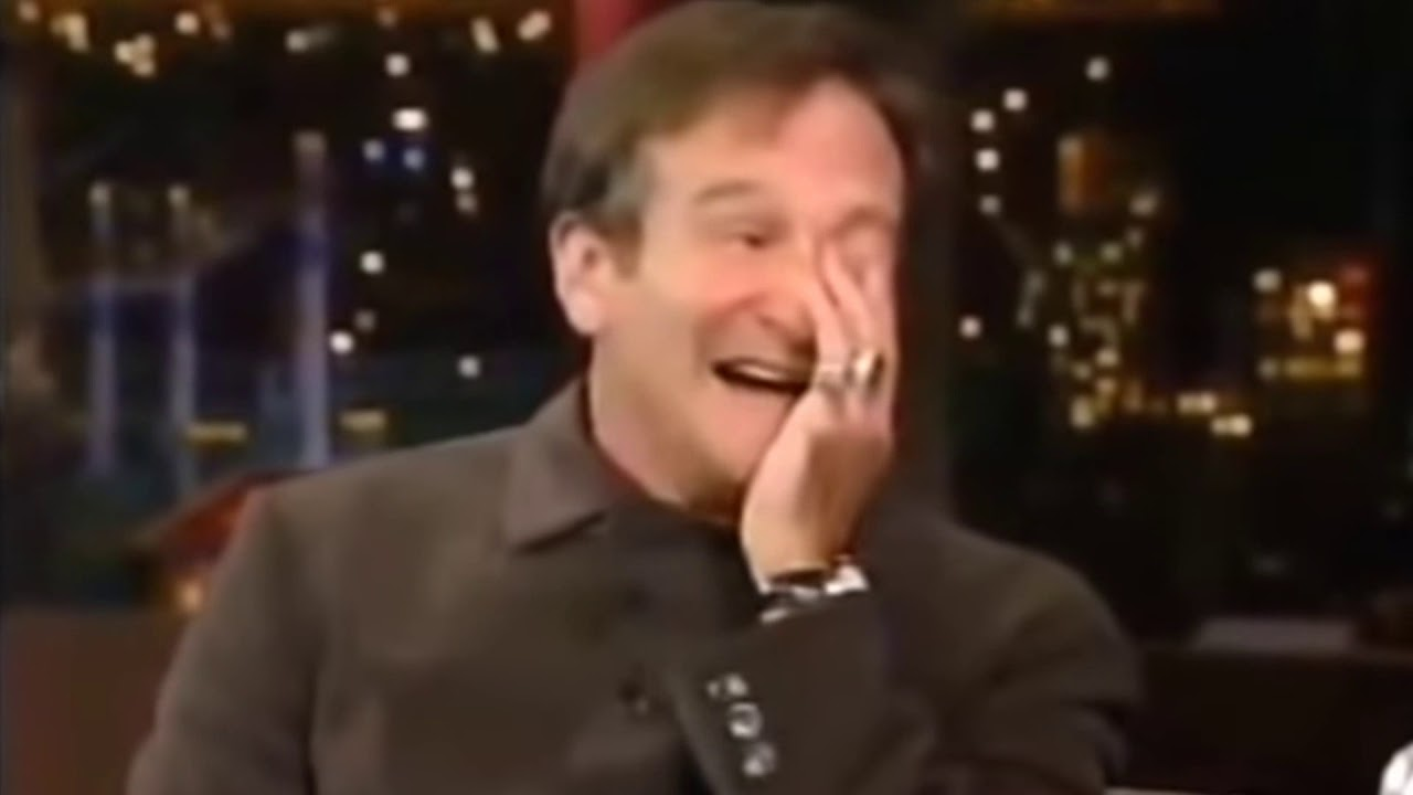 Robin Williams On Letterman Patch Adams 1998 Youtube