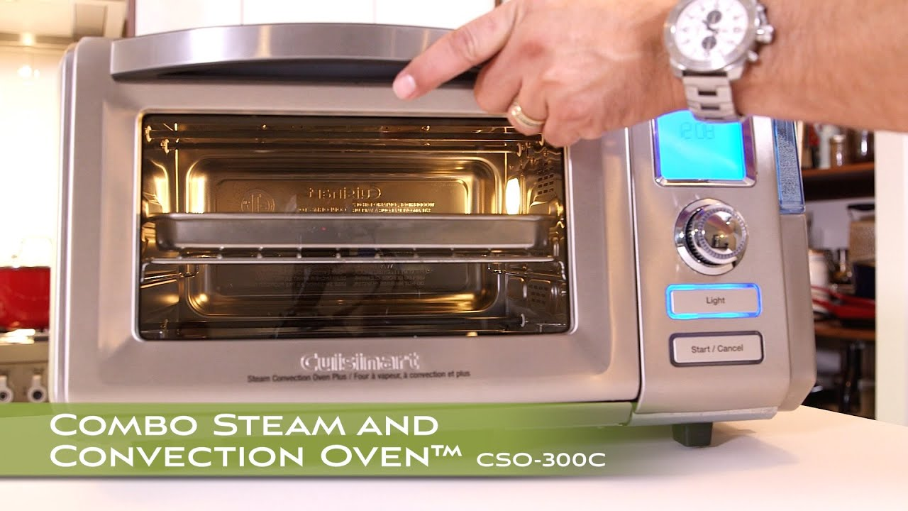 Combo Steam Convection Oven Cuisinart Canada Youtube