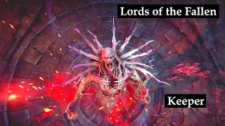 Keeper boss fight. Ancient Labyrinth DLC. Lords of the Fallen DLC