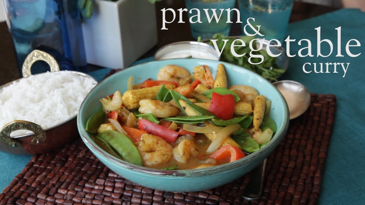 Slimming World Syn Free Prawn And Vegetable Curry Free