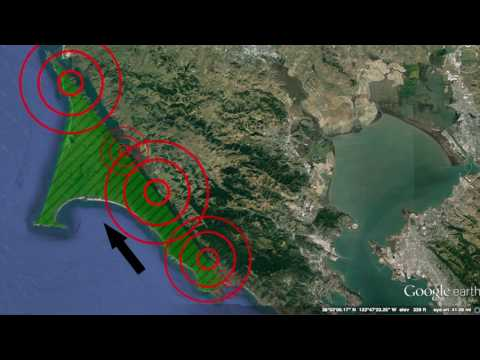 The California Earthquake Trail in Point Reyes