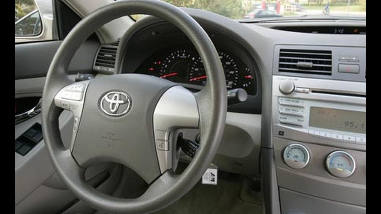how to reset the maintenance required light on a toyota camry [ 1280 x 720 Pixel ]