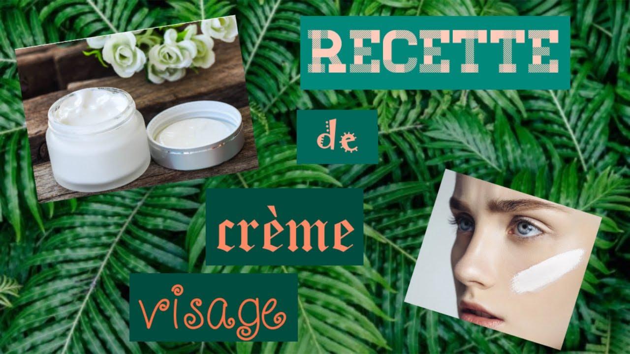 Crème hydratante pour le visage fait maison. - YouTube
