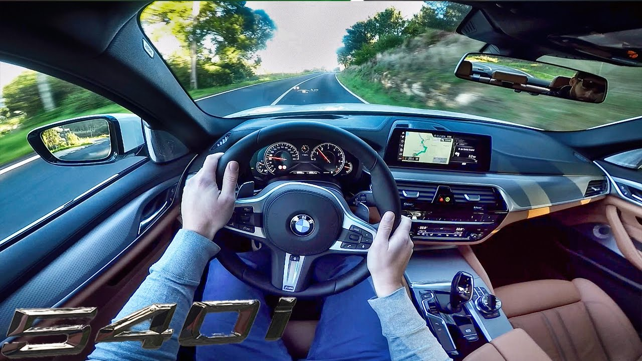 BMW 5 Series G30 M Sport 540i POV Test Drive by AutoTopNL