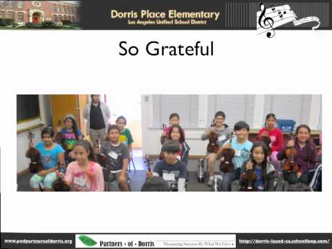 Dorris Place Elementary School Musical Instrument Program