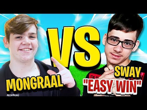 FaZe Mongraal Challenged by FaZe Sway to 1v1 on Fortnite