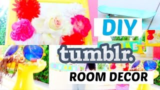 Diy Tumblr Inspired  Room Decoration For Summer  2