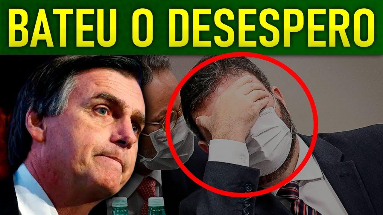 C0RONEL B0LSONARISTA SE ENROLA E ENTREGA O OURO NA CPI!!