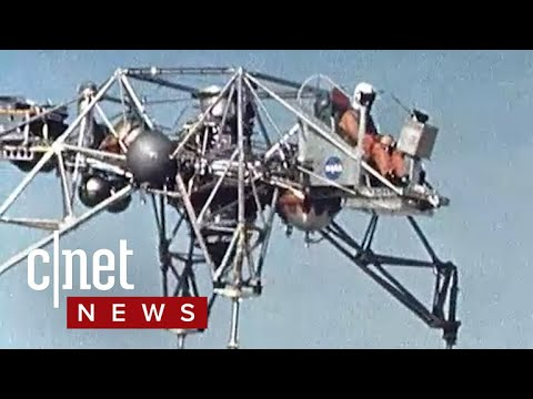 NASA uploaded a ton of awesome test flight footage