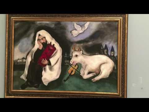 Classic paintings in Tel Aviv Museum of Art