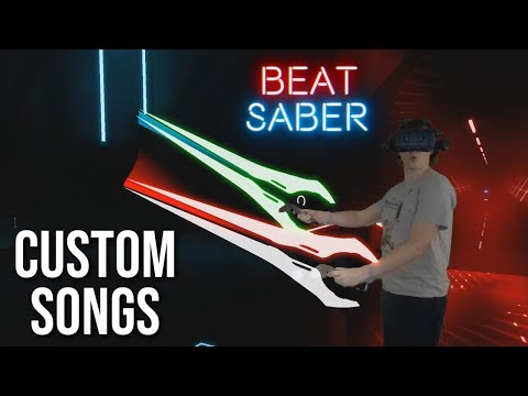 Beat Saber Custom Songs & Sabers Mods LIVE!
