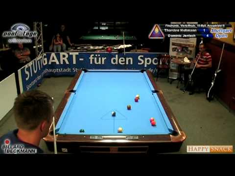 Stuttgart Open 2010 Hohmann-Jentsch, 10-Ball, Pool Billard