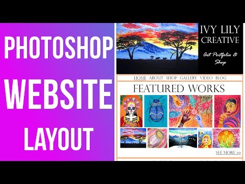 How to Create a Website Layout with...