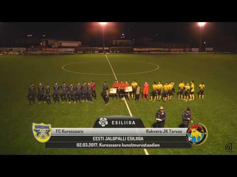 1. voor 2017: FC Kuressaare - Rakvere JK Tarvas 1:2 (0:1)