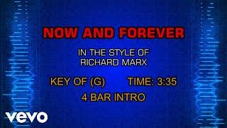 Richard Marx - Now And Forever (Karaoke)
