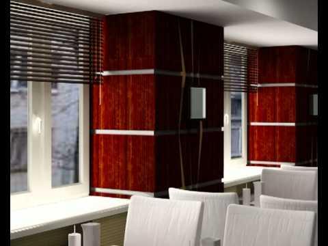 9 Дворцов. Дизайн кафе в японском стиле.