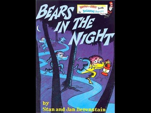 RARE Audio Recording:  Bears in the Night (1976)