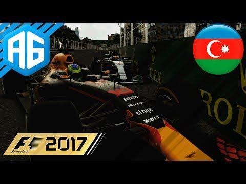 F1 2017 #48 GP DO AZERBAIJÃO - ISSO NÃO TINHA ACONTECIDO ATÉ HOJE (Português-BR)