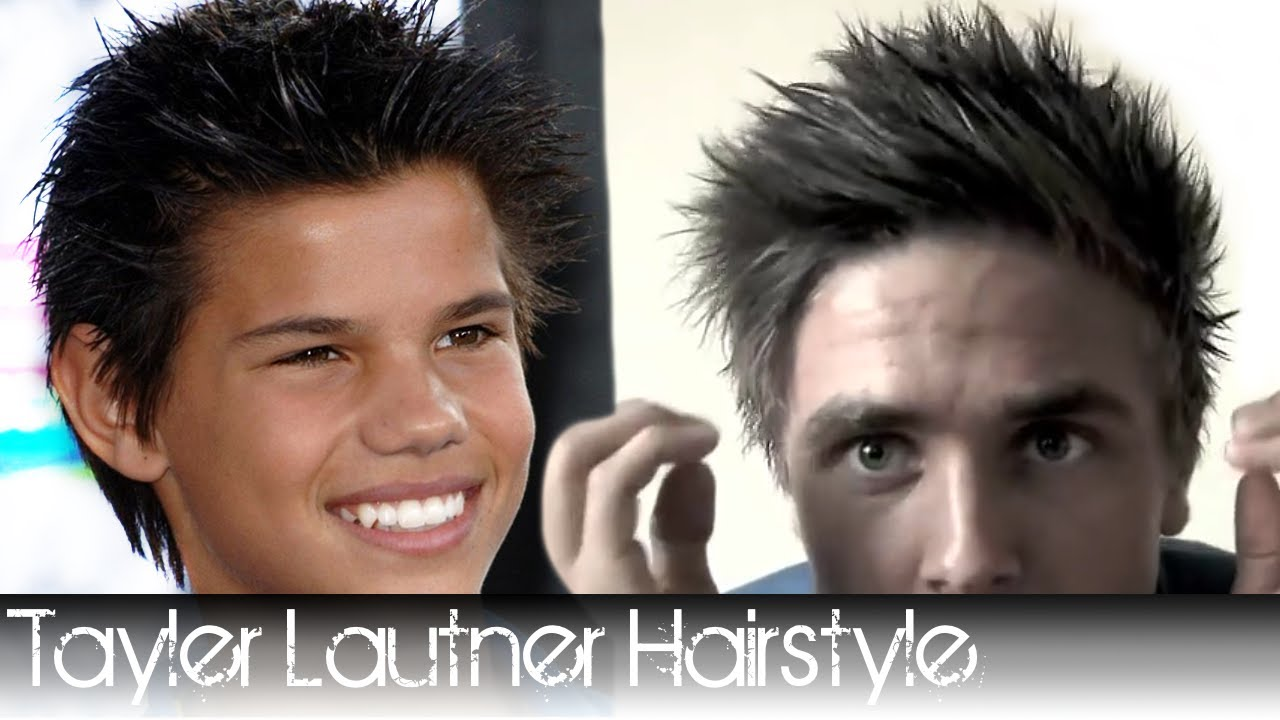 how to style hair like taylor lautner lautner hairstyle from twilight how to style your 9138 | maxresdefault