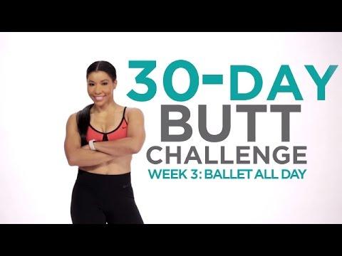 Week 3: Ballet All Day   30-Day Butt Challenge w/Jeanette Jenkins   Fitness