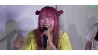 LINE LIVEでのライブ映像です。 https://twitter.com/dempagumi/status/1243439573176176640?s=21.
