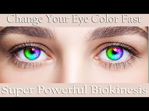 🎧 Super Powerful Biokinesis | Change Your Eye Color | Amazingly Fast Results | Eye Color Binaural