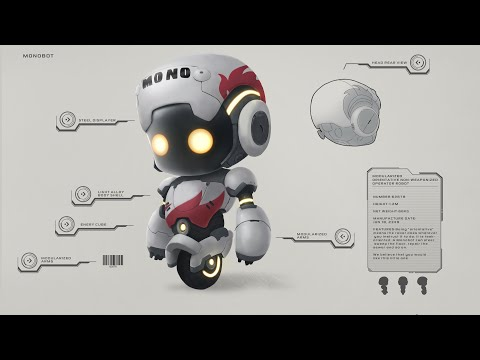 Monobot - Official Game Launch Trailer (2021)