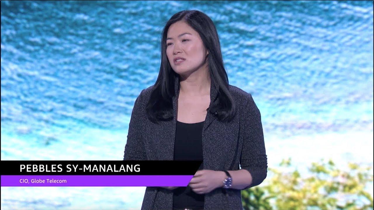 AWS re:Invent 2018: Pebbles Sy-Manalang, CIO of Globe Telecom, Speaks at  Global Partner Summit