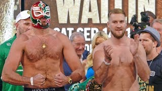 Tyson Fury vs. Otto Wallin FULL WEIGH IN & FINAL FACE OFF | Top Rank Boxing