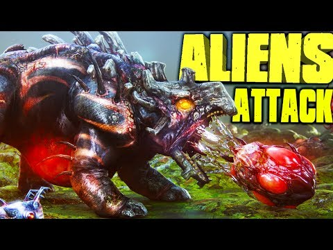 DESTROYING ALIEN NESTS, MOST INSANE WAR EVER - Natural Selection 2 Stream