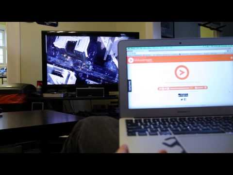 Videostream - One Big Orange Button. HD Streaming To Your TV.