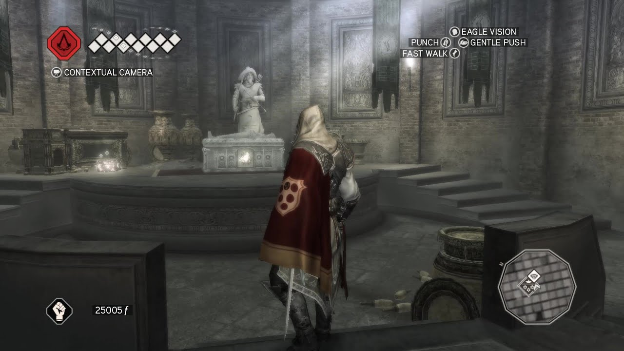 Assassin S Creed Ii Salvando Caterina E O Sarcofago De Qulan Gal