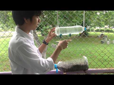 ีระบบน้ำหยด แบบประหยัดฉบับหอพัก ( Drip Irrigation System )