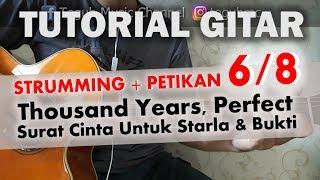 Tutorial Gitar - Strumming + Petikan 6/8