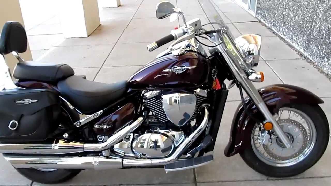 Suzuki C50 Boulevard, Windshield saddle bags only 800 miles