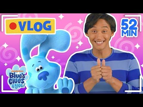 Josh & Blue's Vlogs Ep 1-10! Compilation | Blue's Clues & You!