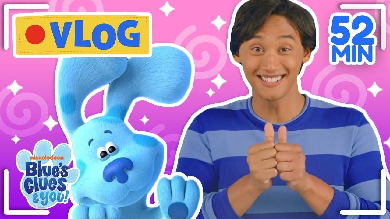 Download Josh & Blue's Vlogs Ep 1-10! Compilation | Blue's Clues & You!